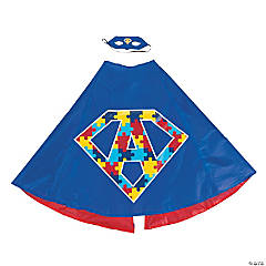 Autism Superhero Cape & Mask Set