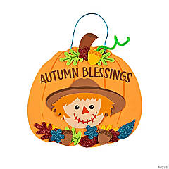 """Autumn Blessings"" Sign Craft Kit"