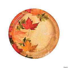 Autumn's Elegance Dinner Plates