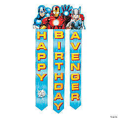 Avengers Assemble Birthday Banner