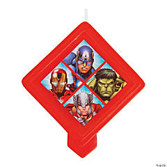 Avengers™ Birthday Candle