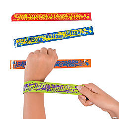 Award Saying Slap Bracelets
