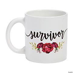 Awareness Survivor Ceramic Coffee Mug