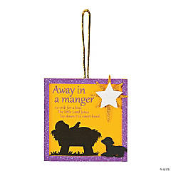 Away in a Manger Ornament Craft Kit