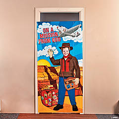 Awesome Adventure Photo Door Banner