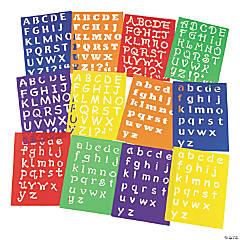 Awesome Alphabet Stencils