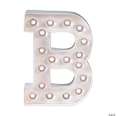 """B"" Marquee Light-Up Kit"