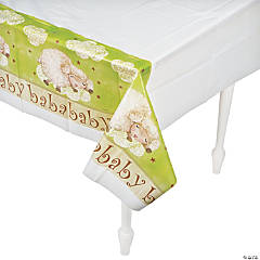 Ba Ba Baby Shower Table Cover