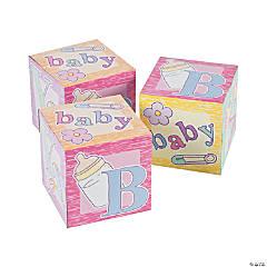 Baby Blocks Favor Boxes