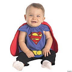 Baby Boy's Superman™ Bib Costume - 0-9 Months
