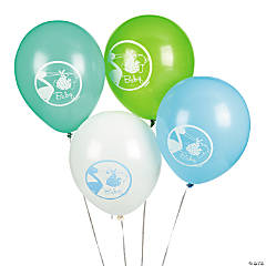 Baby Boy Stork Latex Balloons