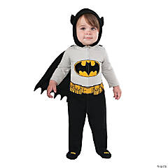 Baby Boyu0027s Batman™ Romper Costume  sc 1 st  Oriental Trading & Batman Costumes for All Ages 2018 | Oriental Trading Company