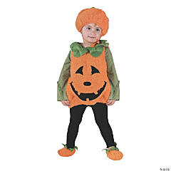 Baby Girl's Pumpkin Cutie Pie Vest Costume - 24 Months