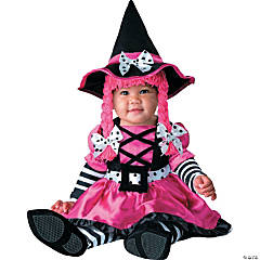 Baby Girl's Wee Witch Costume