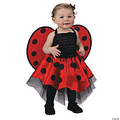 Baby Girl's Ladybug Dress Costume - Up to 24 Months