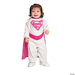 Baby Girl's Pink Supergirl™ Costume