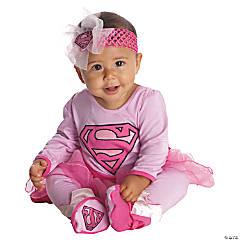 Baby Girl's Supergirl™ Onesie Costume - 6-12 Months