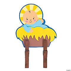 Baby Jesus Clothespin Craft Kit