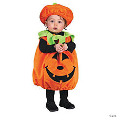 Baby Plush Pumpkin Costume - Up to 24 Months