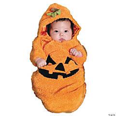 Baby Pumpkin Bunting Costume - 0-6 Months