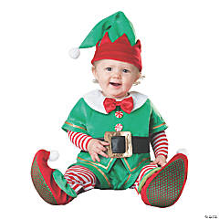 Baby Santa's Lil' Elf Costume - 12-18 Months