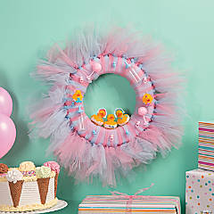 Baby Shower Wreath Idea