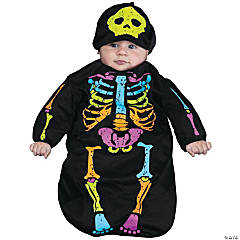 Baby Skelebaby Bunting Costume - 0-9 Months