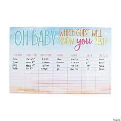 Baby Statistics Game