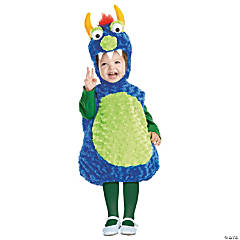Baby/Toddler Blue & Green Monster Costume