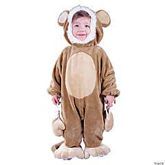 Baby/Toddler Cuddly Monkey Costume