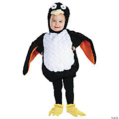 Baby/Toddler Furry Penguin Costume