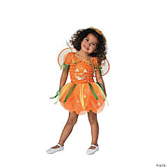 Baby/Toddler Girl's Pumpkin Pie Costume