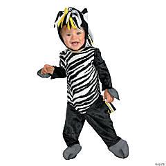 Baby Zany Zebra Costume