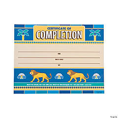Babylon VBS Certificates of Completion