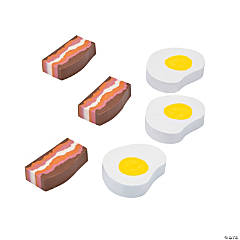 Bacon & Egg Erasers