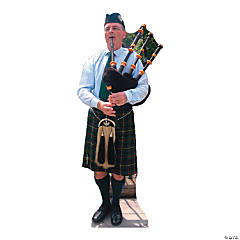 Bagpiper Stand-Up