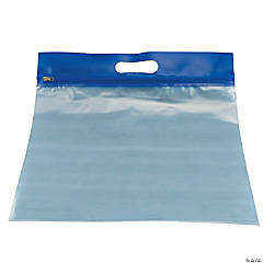 Bags of Bags ZIPAFILE Storage Bag, Blue, Pack of 25