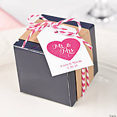 Bakers Twine Favor Box with Printable Tag Idea