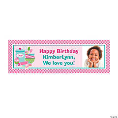 Baking Party Custom Photo Banner