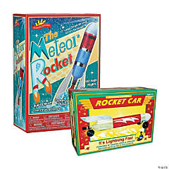 Baking Soda and Vinegar Rockets Set