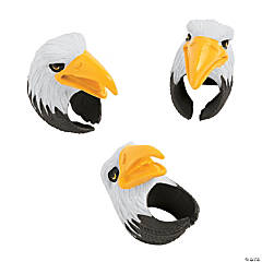 Bald Eagle Finger Puppet Rings