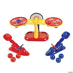 Ball Launch Balance Game
