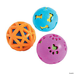 Ball with Cutouts Dog Toys