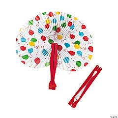 Balloon Folding Hand Fans