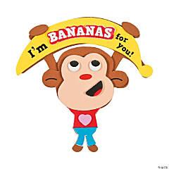 Bananas for You Monkey Magnet Craft Kit