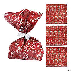 Bandana Cellophane Bags