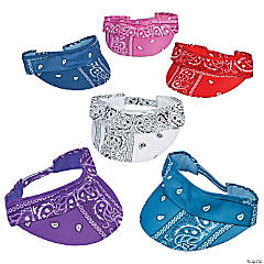 Bandana Visors Assortment