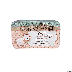 Baptism Blessings Sitter Plaque
