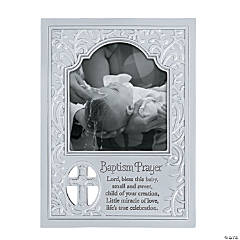 Baptism Prayer Picture Frame