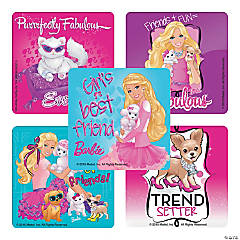 Barbie with Pets Stickers